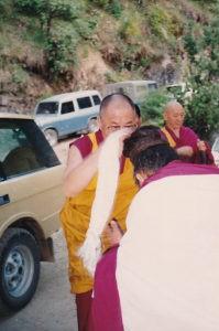 Lama Jigme Rinpoche and the Dalai Lama