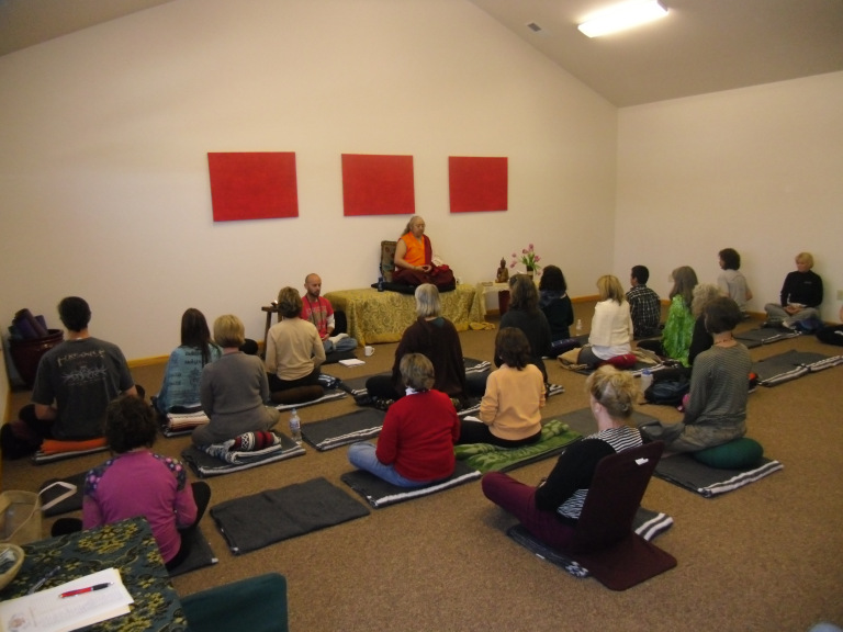 Buddhist meditation Lama Jigme