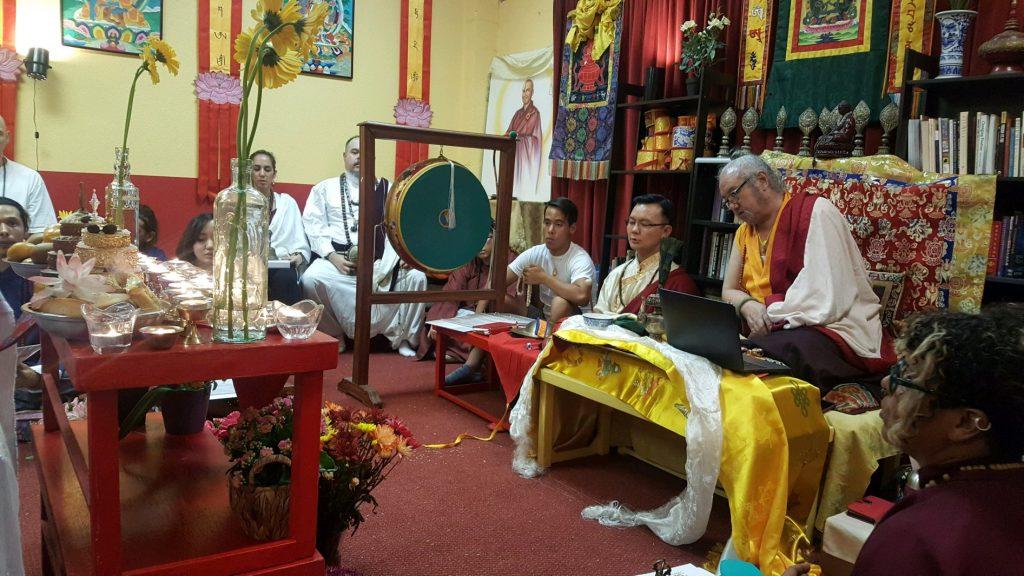 Green Tara Mandala Puja