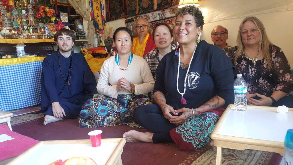 guru tsok offering