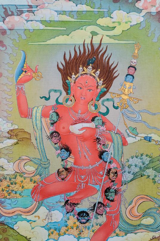 Vajrayogini (Vajravarahi) (537 x 809)