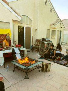 wrathful dakini fire puja1