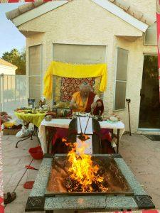 wrathful dakini fire puja 2