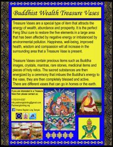 buddhist wealth vases
