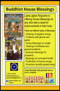 buddhist house blessings