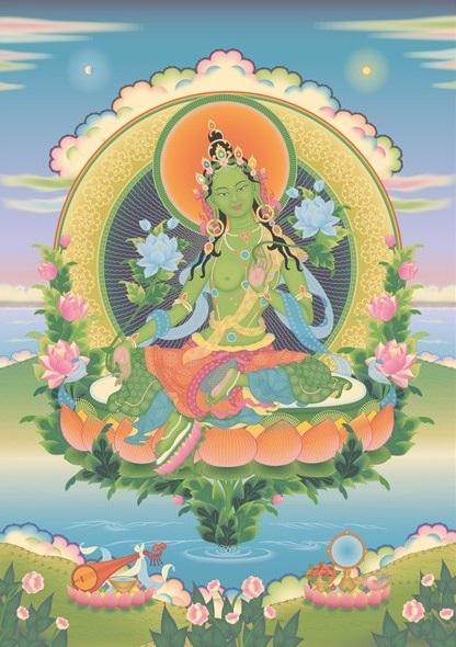 Green Tara v5 (416 x 590)