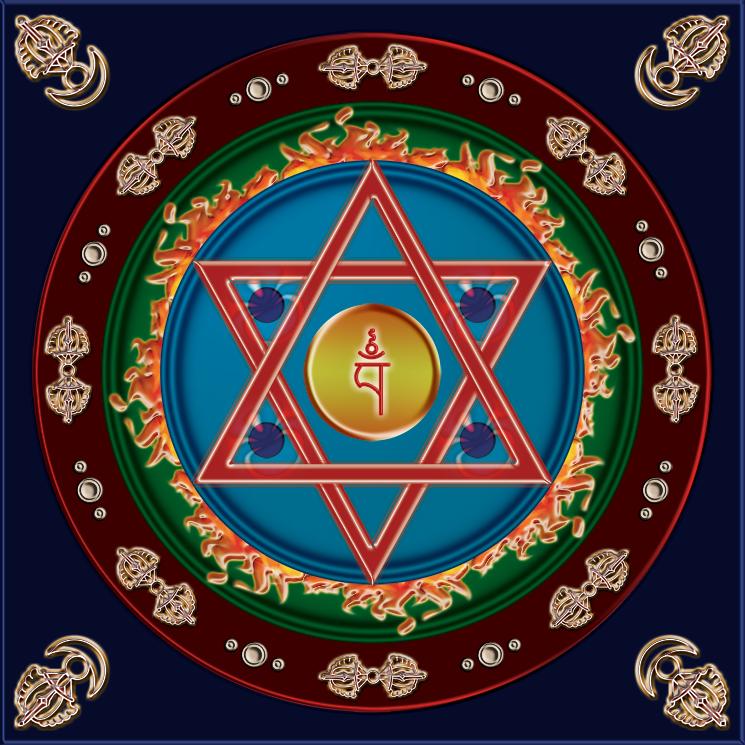 Dakini Mandala (745 x 745)
