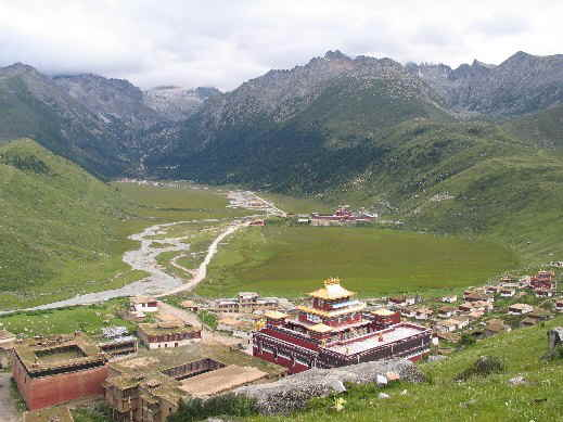 dzogchen monastery tibet